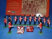 WB 00215 Scots Guards Colour Party in State Dress 1899